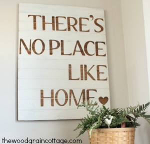 the wood grain cottage diy sign