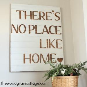 the wood grain cottage diy sign