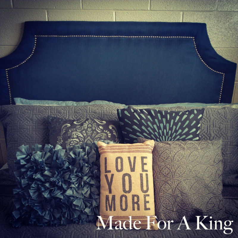 upholstered-headboard - at Made for a King