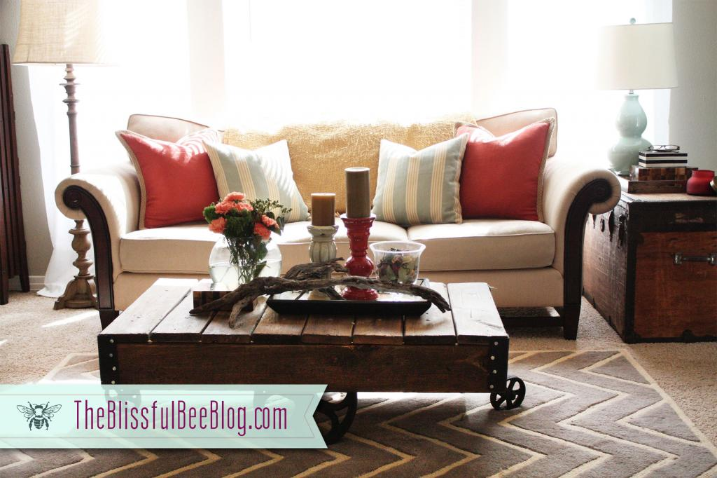 The Blissful Bee Blog-living-room-reveal