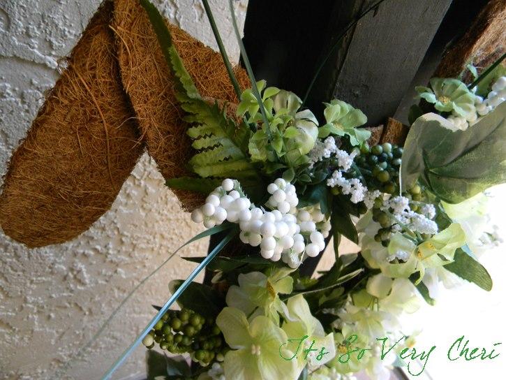 bunny wreath at it's so very cheri
