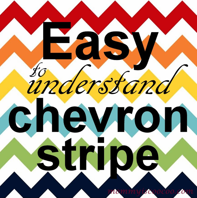 chevron-made-easy by Mommy is CooCoo