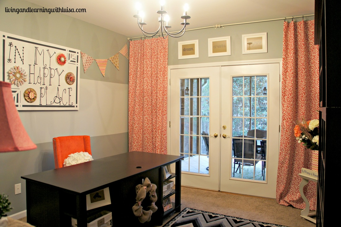 craft-room-makeover by Living and Learning with Luisa