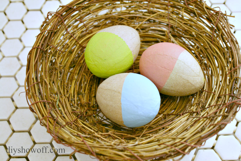 dip-dyed-painted-paper-mache-easter-eggs