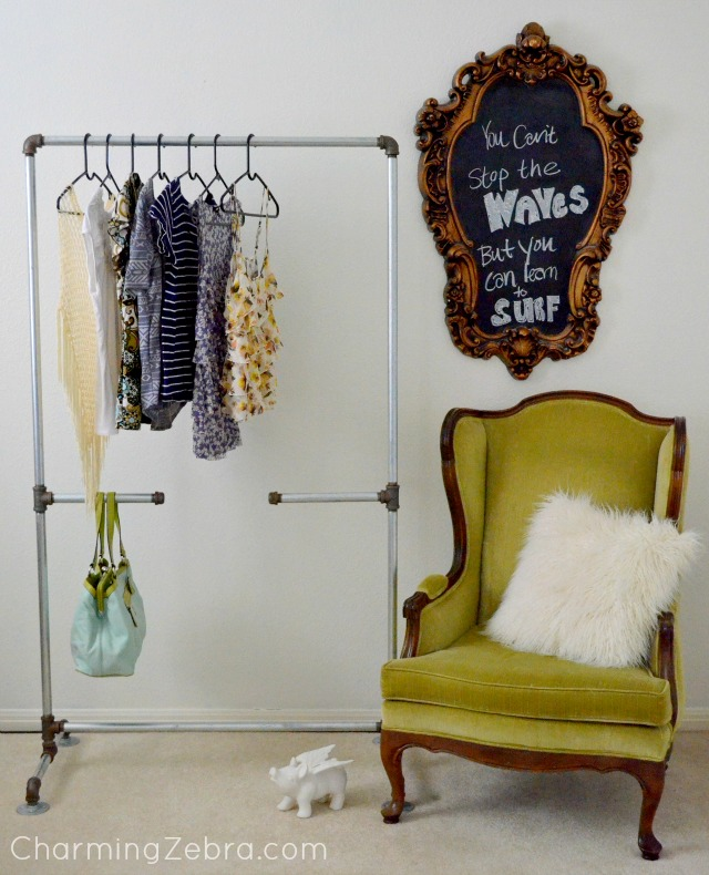 diy-clothing-rack