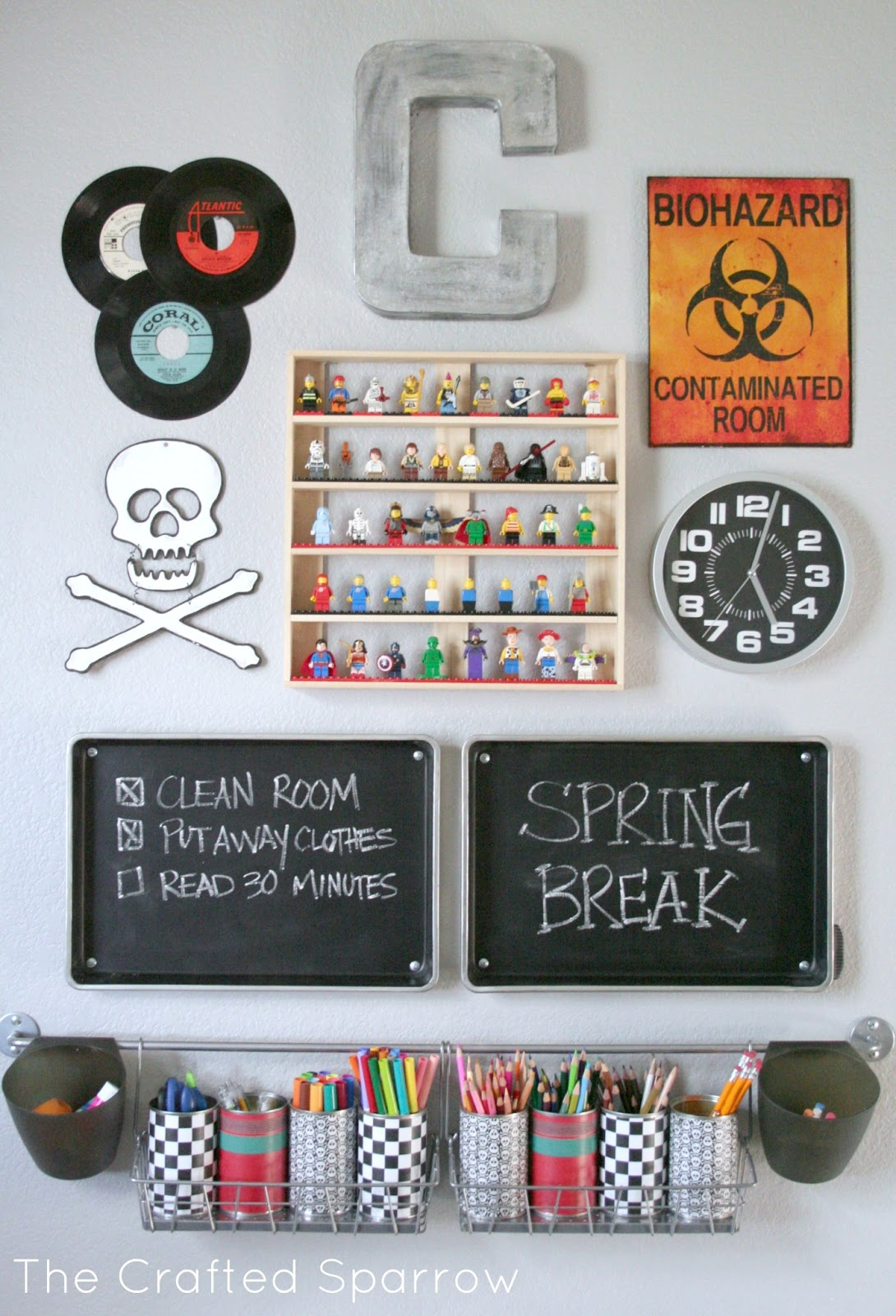 homework-station by the crafted sparrow