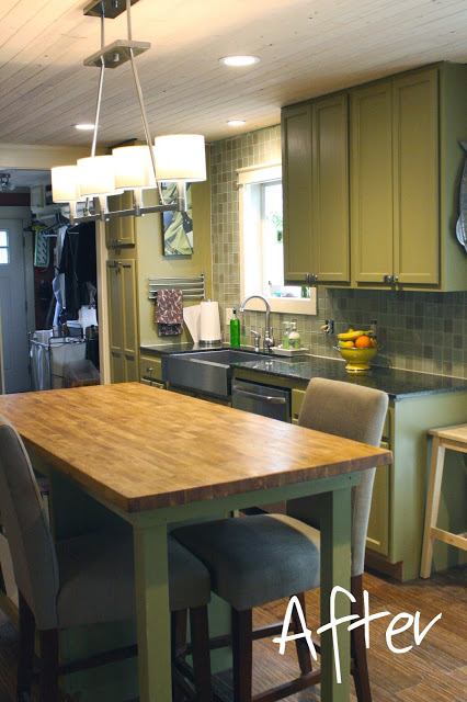 kitchen-makeover- the house is going to be great blog