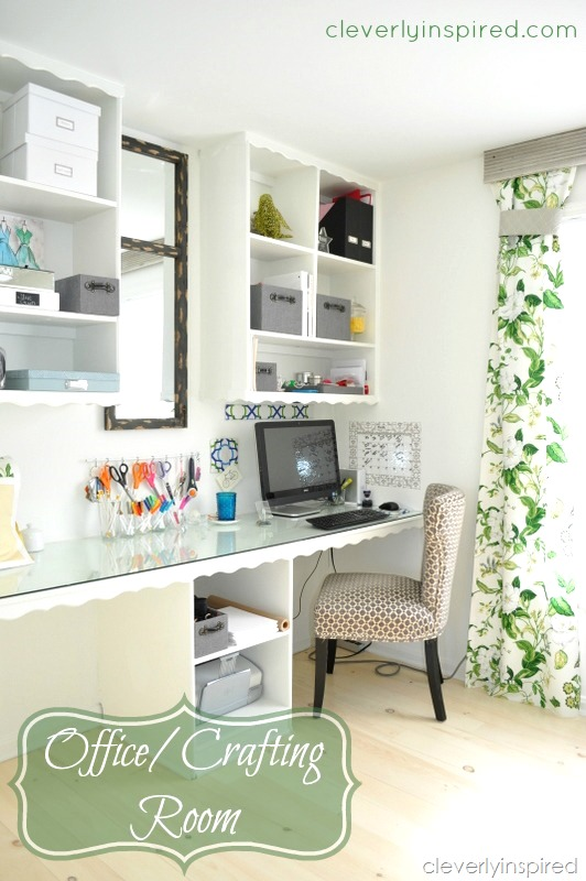 office-craft-room-cleverlyinspired