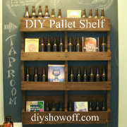 DIY Pallet Shelf TutorialDIY Show Off TM Decorating And Home