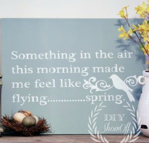 DIY-spring-sign-mantel