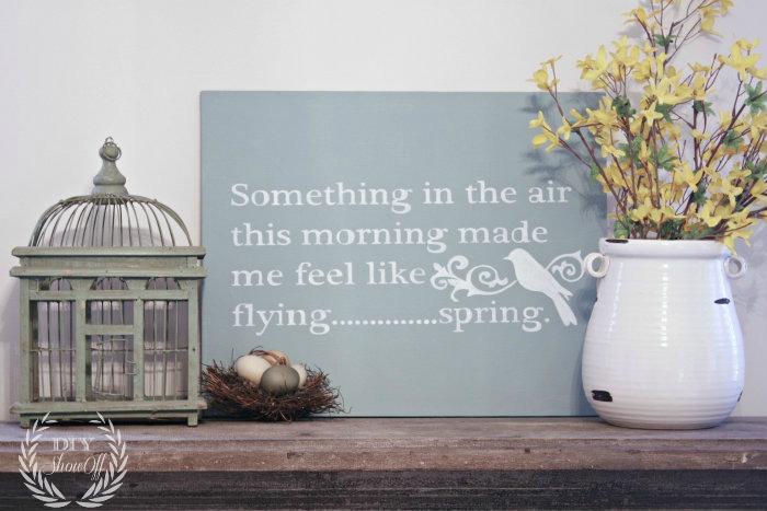 spring-mantel