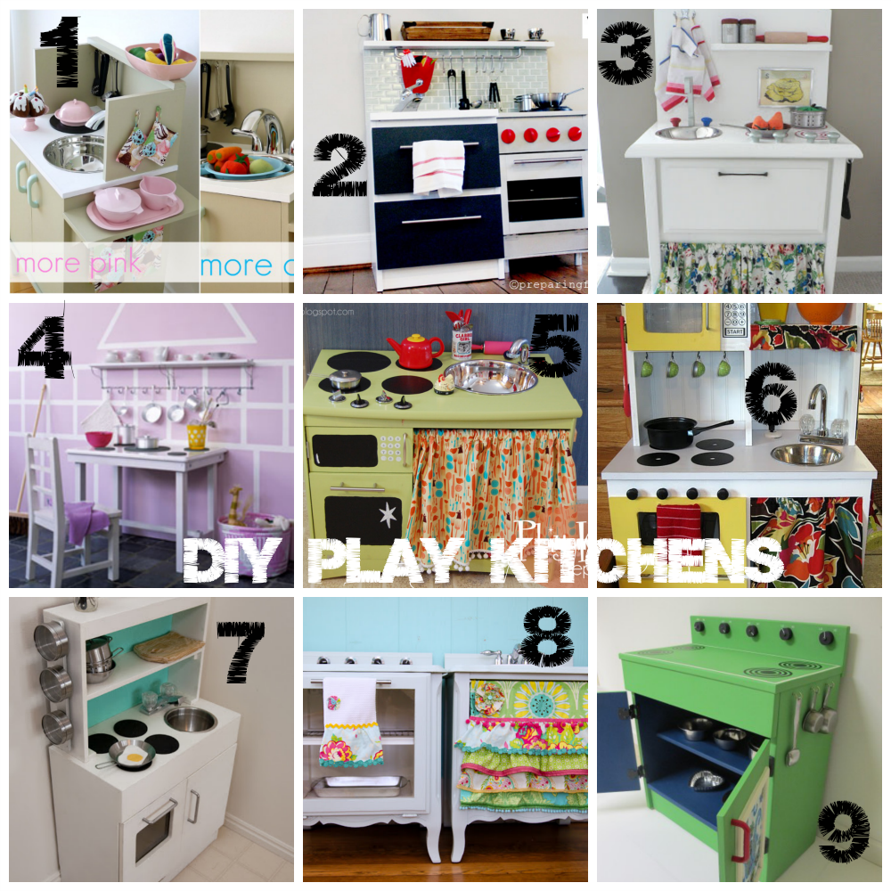 Diy Child S Play Kitchen: Before/After Thrift Store Play Kitchen