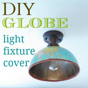 globe lighting fixtures. diyglobelightfixturecovertutorial globe lighting fixtures