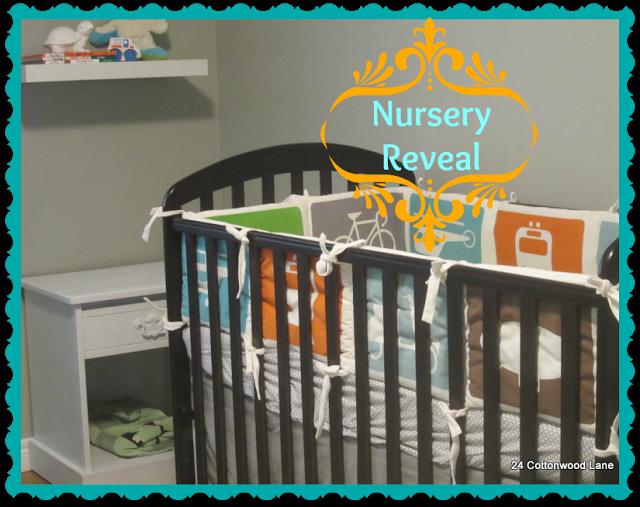 Nursery Reveal by 24 Cottonwood Lane