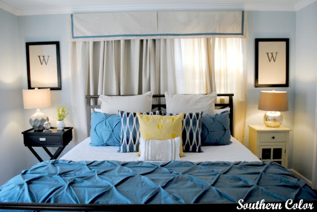 guest-bedroom-makeover by Southern Color