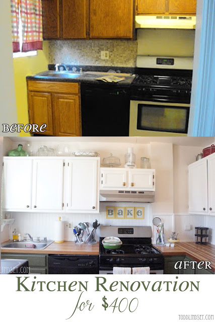 kitchen-makeover by Todd and Lindsey