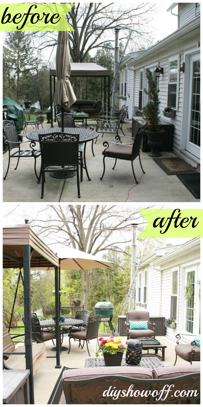 Patio Makeoverdiy Show Off Diy Decorating And Home