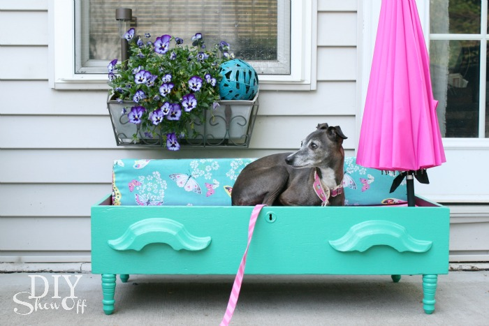 DIY dresser drawer pet bed