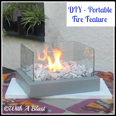 DIY fire feature by With a Blast
