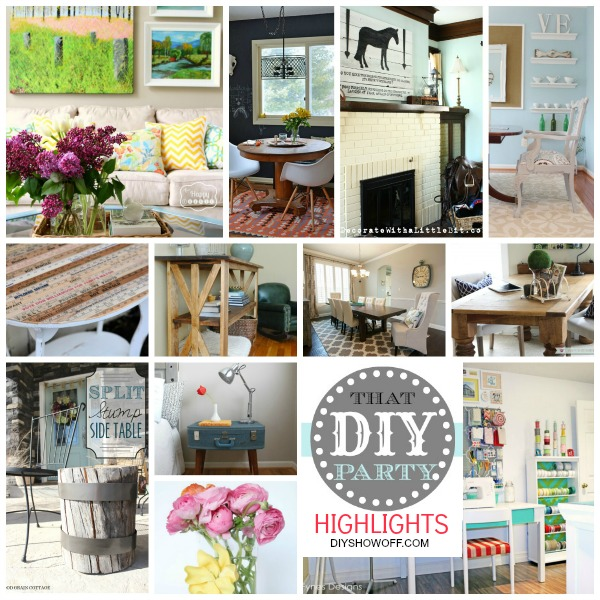 That diy party and highlightsdiy show off diy decorating and diy projects solutioingenieria Choice Image