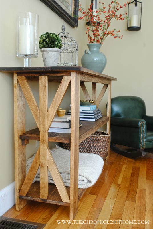 DIY x base table by The Chronicles of Home