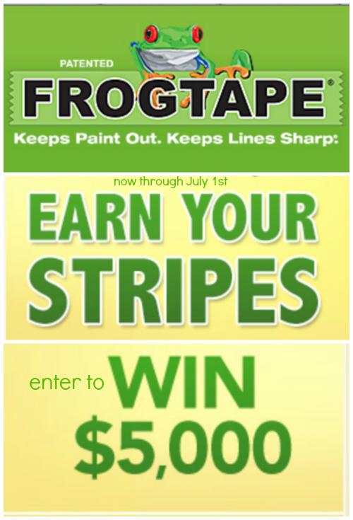 FrogTape Earn Your Stripes