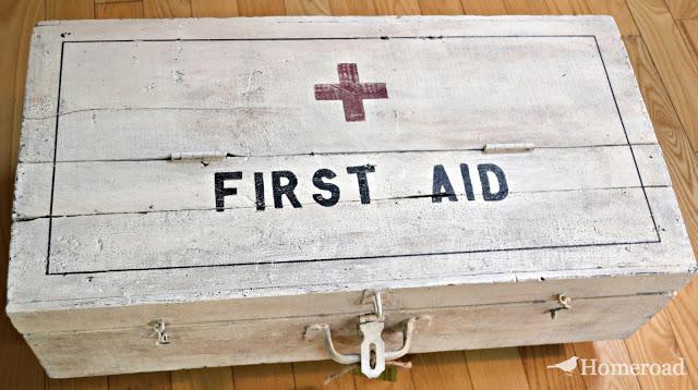 HomeRoad first aid foot locker
