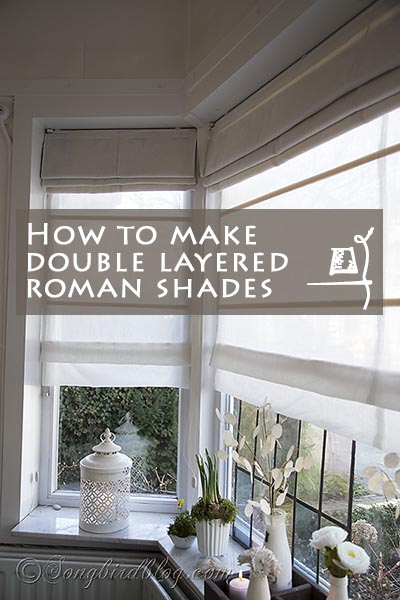 How-to-make-double-layered-roman-shades by Songbird Blog