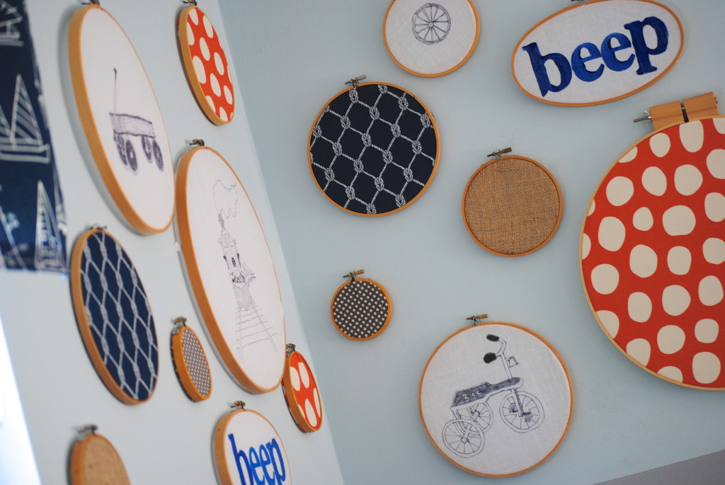 Making Lemonade - embroidery hoop art