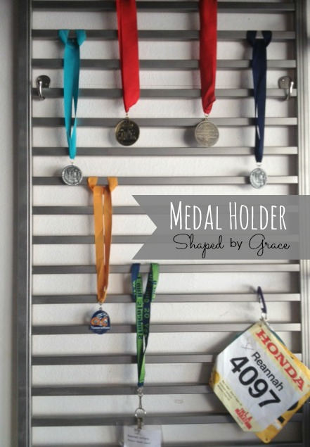 Medal Holder at Shaped by Grace