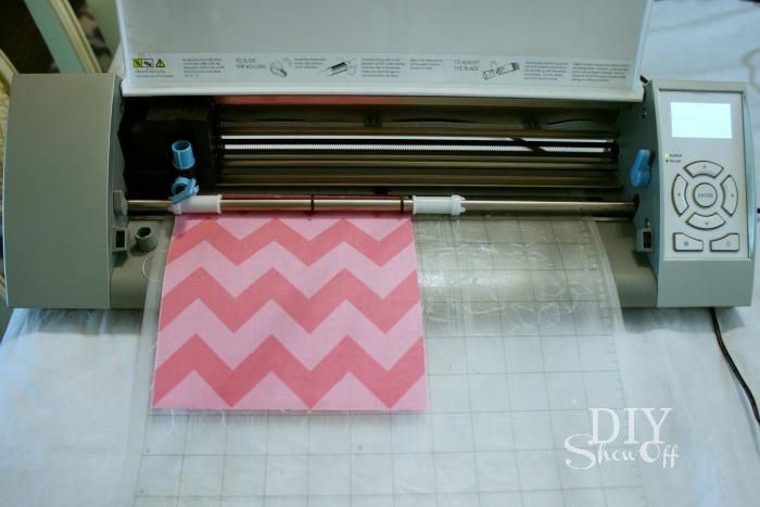 Silhouette cutting fabric