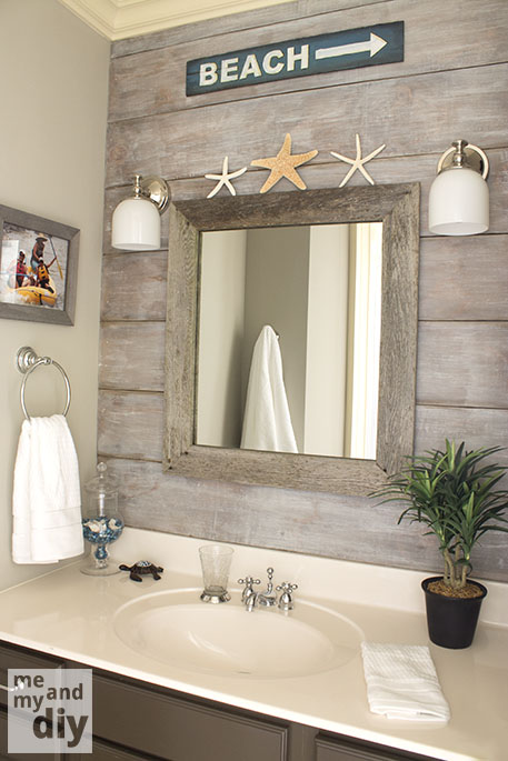 bathroom makeover by me and my diy