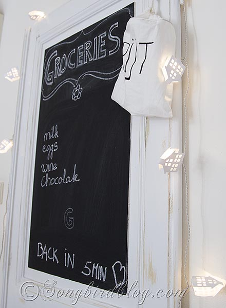 chalkboard-kitchen-door Songbird blog