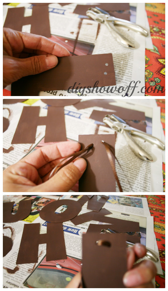 chipboard banner tutorial