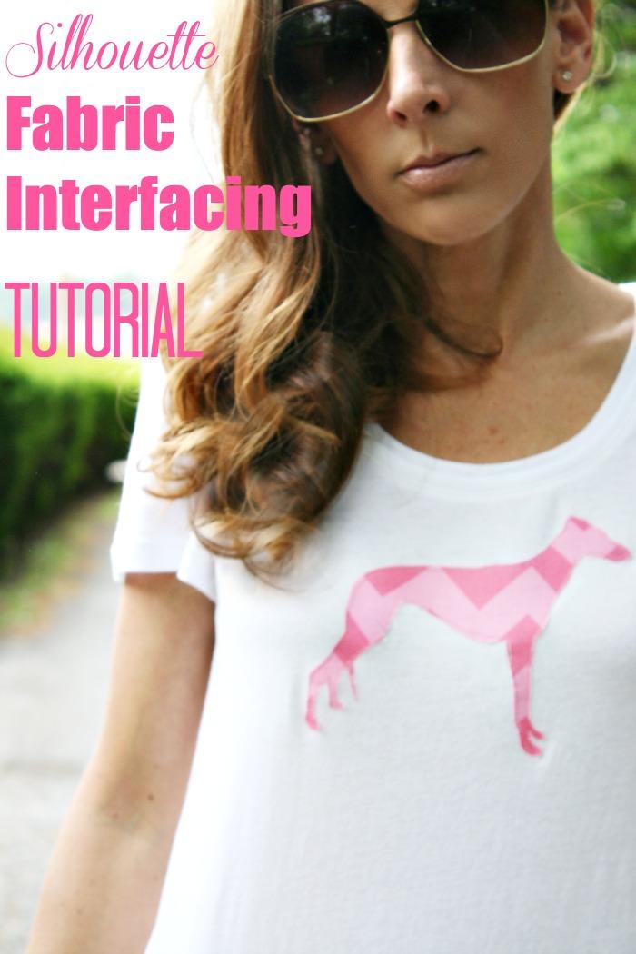 fabric interfacing tutorial