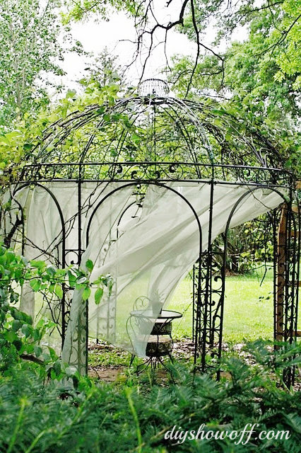grape arbor gazebo