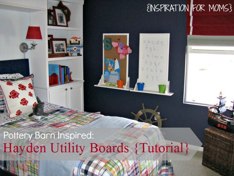hayden utility boards DIY by Inspiration for Moms