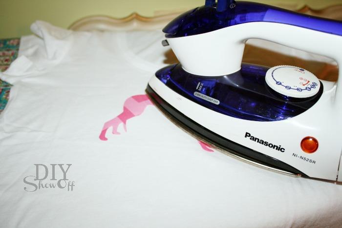 ironing appliqueironing applique