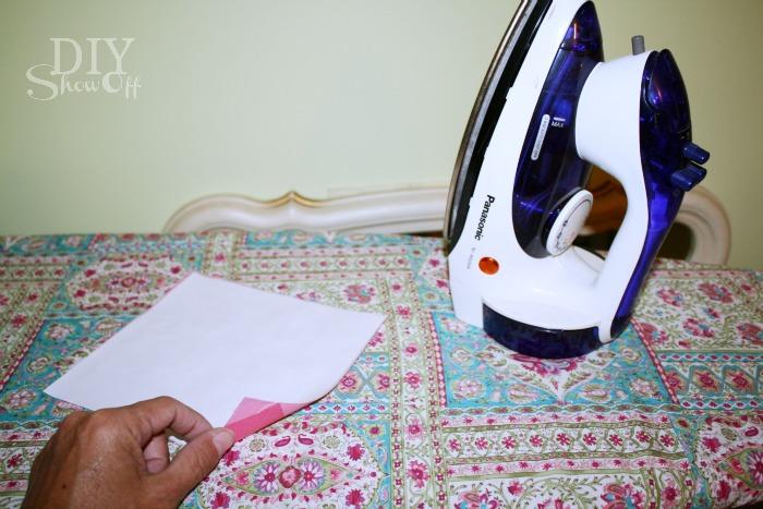 ironing interfacing