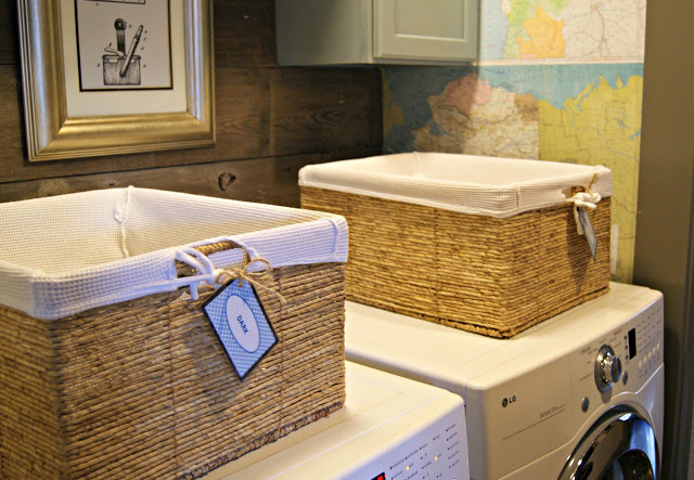 laundry closet makeover by bles-id blog