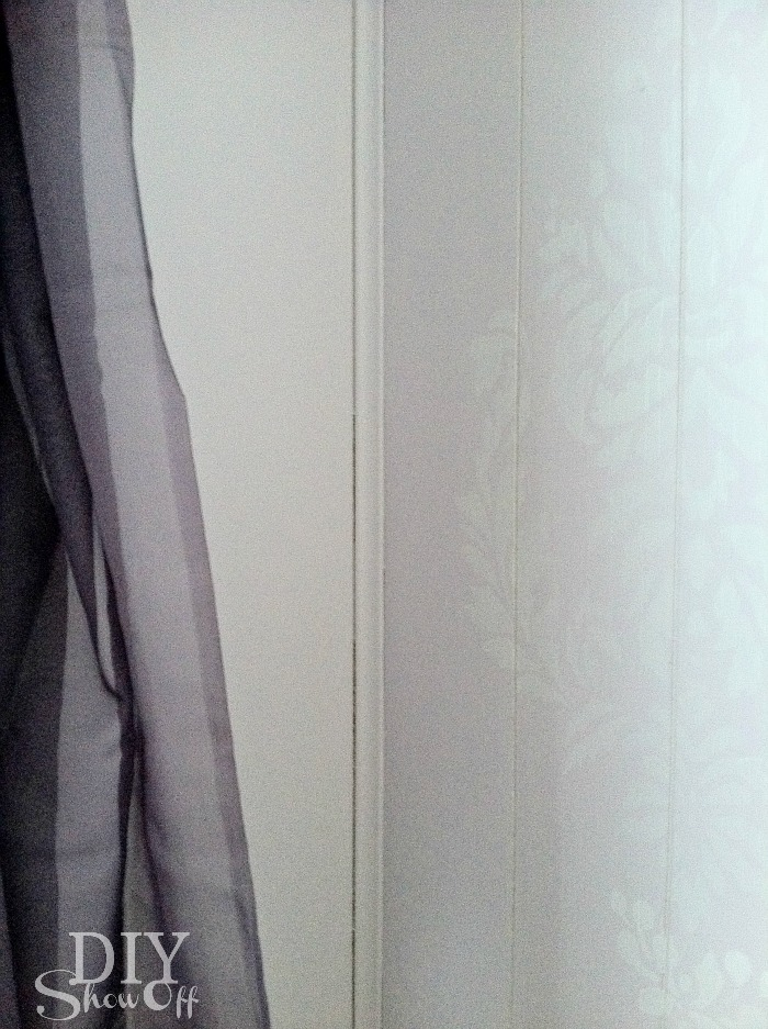 painted paneled walls