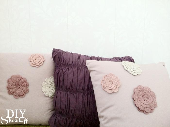 purple pillows