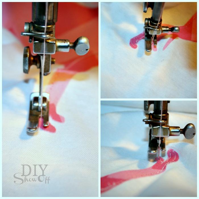 sewing applique