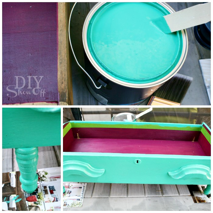 painting dog bed