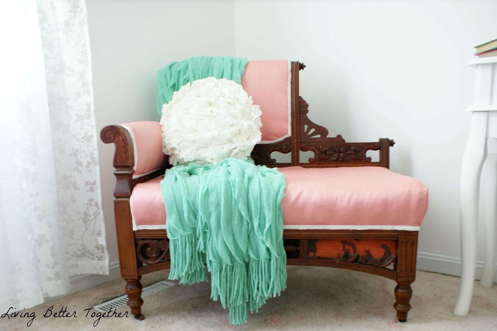vintage chair Living Better Together