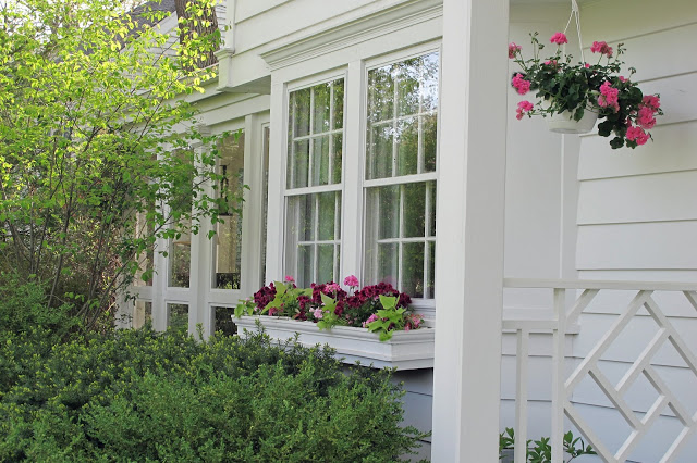 window boxes at Just Grand blog