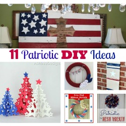 11 Patriotic DIY Projects feature