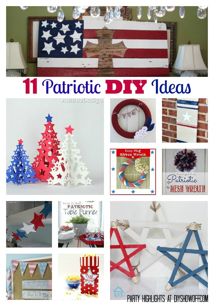 11 Patriotic DIY Projects