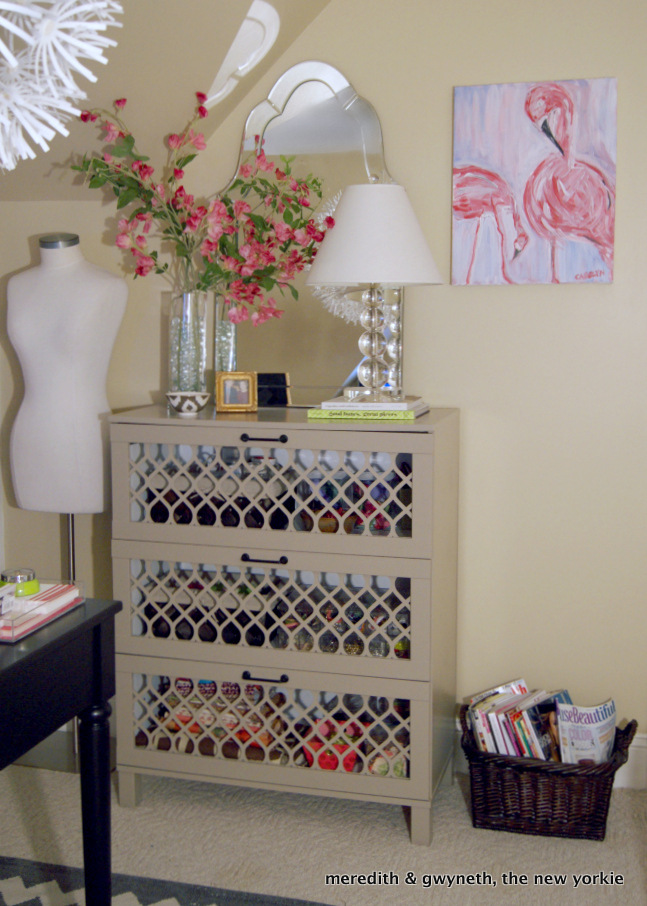 Dresser-With-Overlays at Meredith and the New Yorkie