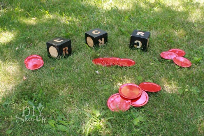 DIY Outdoor LCR Dice Game Tutorial